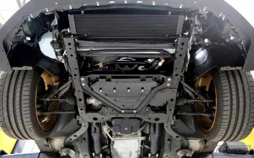 2015 Mustang Gt Supercharger >> Engine Oil Cooler Ford S550 Mustang GT | HARROP ...