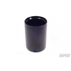"Aluminium Exhaust Tip 2½"" Black"