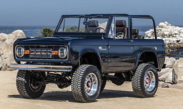 HARROP SUPERCHARGED FORD BRONCO RAISES $650,000 AT AUCTION