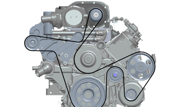 DESIGN AND CHOICE OF SUPERCHARGER DRIVE SYSTEMS, PULLEYS, BELTS AND TENSIONERS