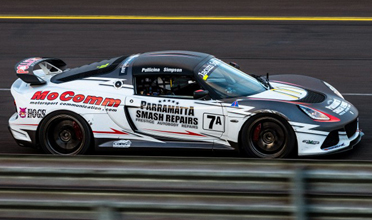 POLLICINA AND SIMPSON WIN AUS PRODUCTION CAR TITLE IN HARROP TVS1900 SUPERCHARGED LOTUS EXIGE