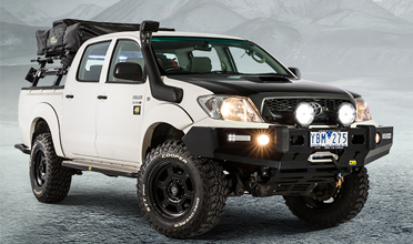4X4 AUSTRALIA'S GIVEAWAY HILUX GETS HARROP ELOCKER