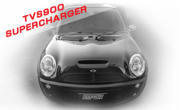 HARROP RELEASE TVS900 SUPERCHARGER FOR R53 MINI COOPER S